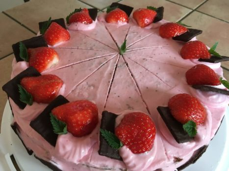 Seminarhaus Jonathan Kuchen Mit Erdbeeren